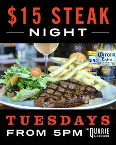 $15 STEAK NIGHT