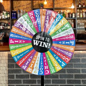 SPIN TO WIN WEDNESDAY